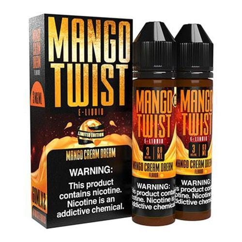 TWIST E-Liquid Mango - Mango Cream Dream - 120mL - Vape Masterz