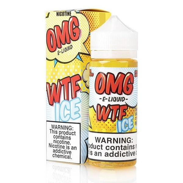 OMG E-Liquid - WTF ICE - 120mL - Vape Masterz