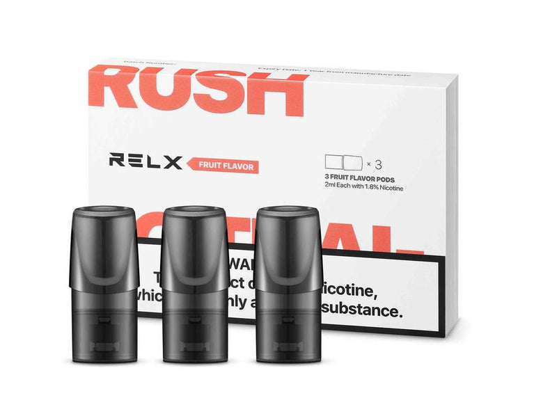 RELX Replacement Pods Cartridges - Fruit - Vape Masterz