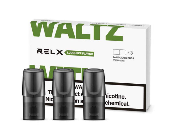 RELX Replacement Pods Cartridges - Ludou (Mung Bean) - Vape Masterz