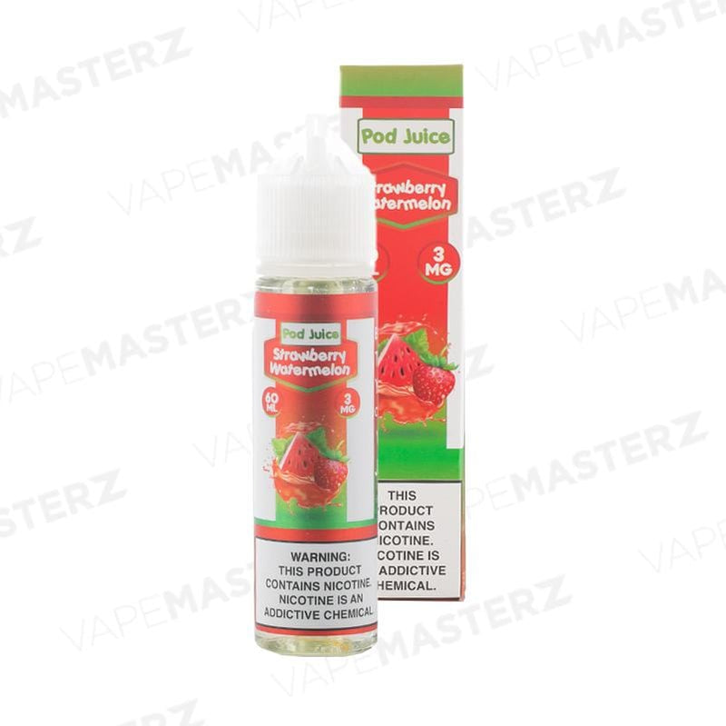 POD JUICE Strawberry Watermelon 60mL - Vape Masterz