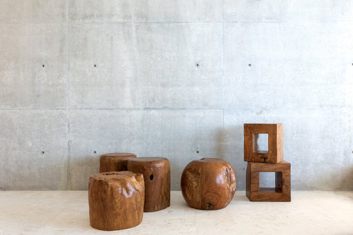 Sculpture Stools