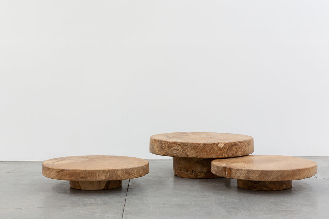 Round Slab Table