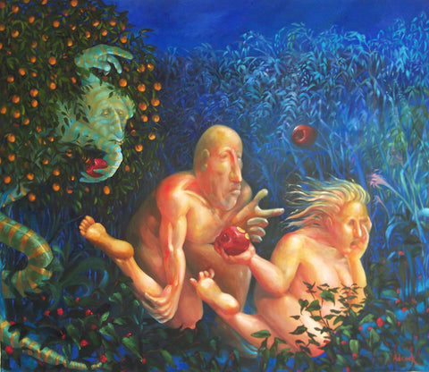 The Expulsion of Adam and Eve from the Garden of Eden Giclees