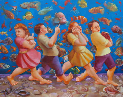 Crossing the Red Sea Giclees