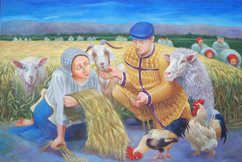 Ruth and the Barley Harvest Giclees