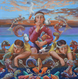 The Miraculous Draught of Fishes Giclees
