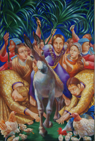 The Triumphal Entry Giclees