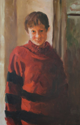 Orphan In a Red Sweater