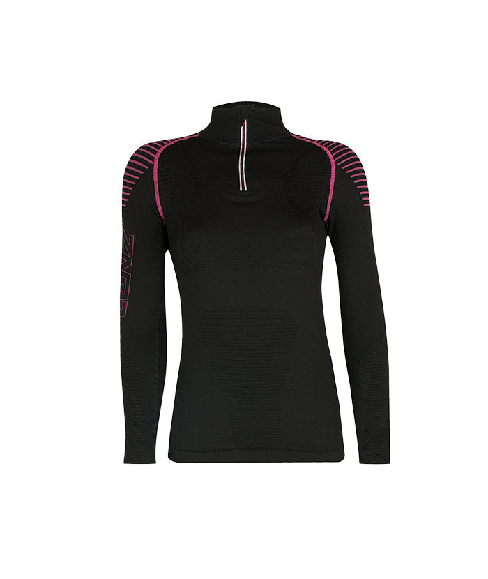 Longsleeve Women Compression 3.0 zip - Lenz Products