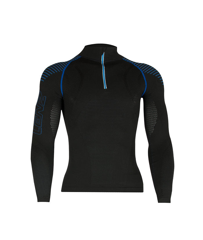 Longsleeve Men Compression 3.0 zip - Lenz Products