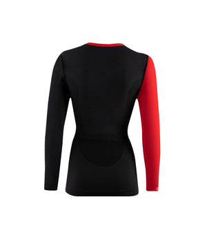Longsleeve Women Merino 6.0 round neck - Lenz Products