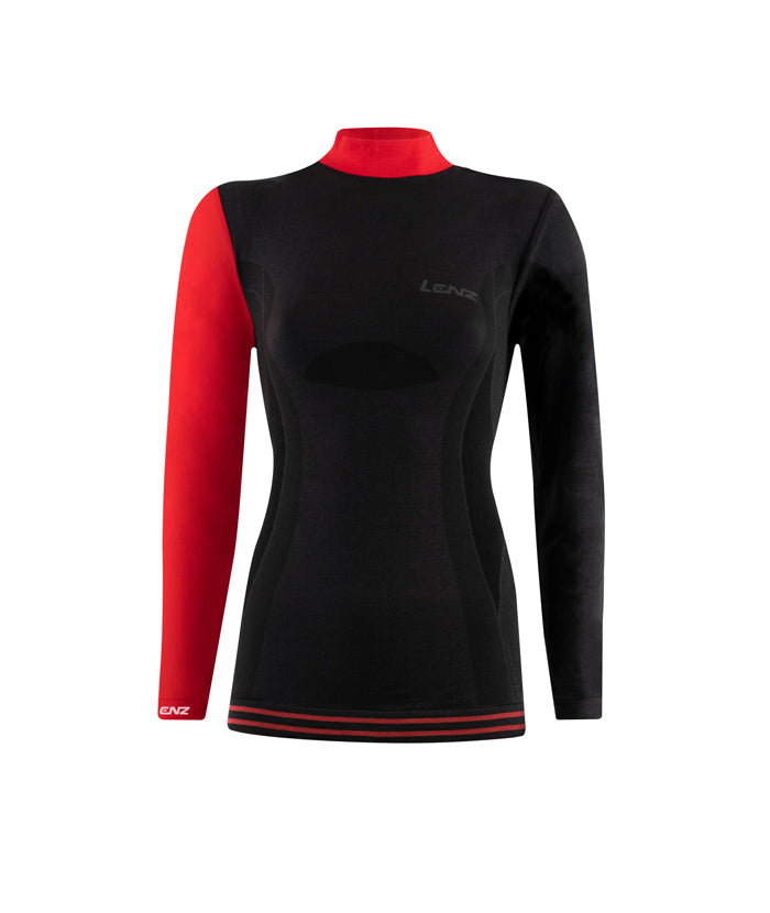 Longsleeve Women Merino 6.0 turtle neck - Lenz Products