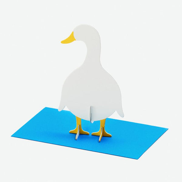 立體卡片 Duck/Standing Message Card