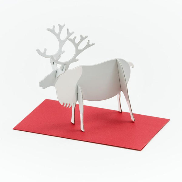 立體卡片 Reindeer/Standing Message Card