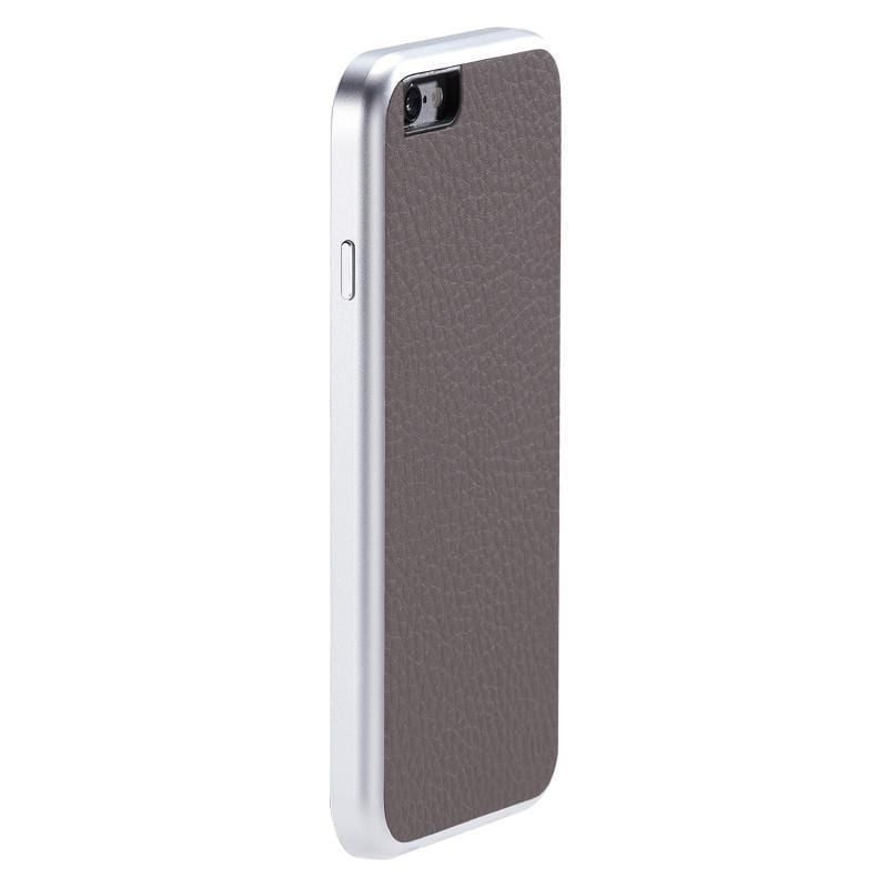 AluFrame Leather iPhone 6/6s (4.7吋) - 灰色 AF-168GY
