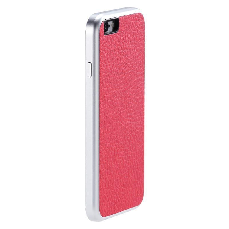 AluFrame Leather iPhone 6/6s (4.7吋) - 粉紅 AF-168PK