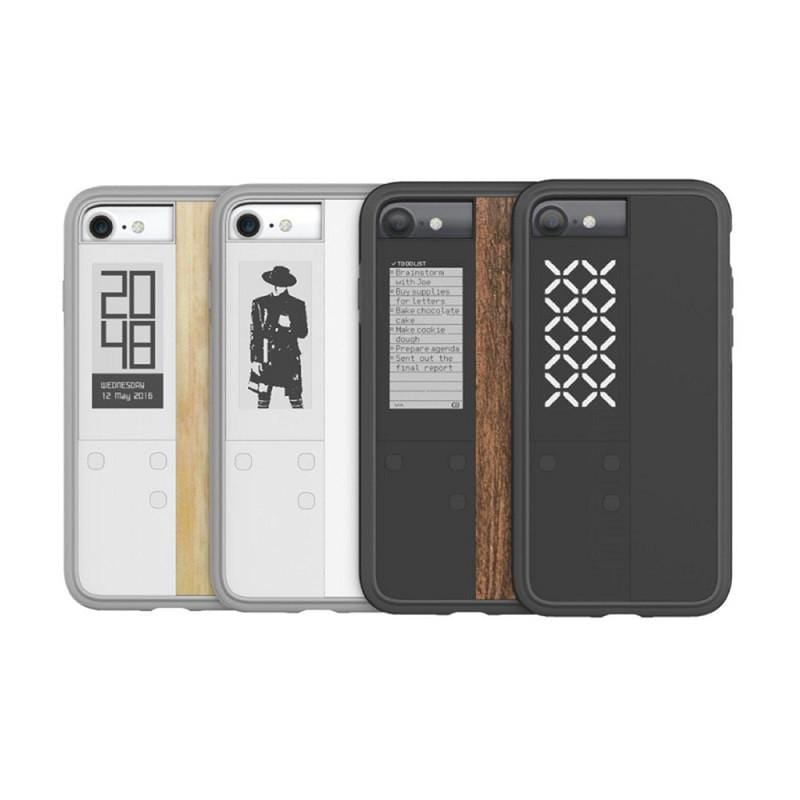 Ink case IVY 雙螢幕手機殼 for iPhone7 - 黑色