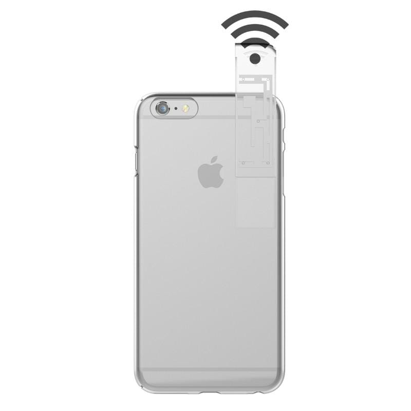 LINKASECLEAR 3D全面包覆4H抗刮全透明保護殼(WIFI加強款) for iPhone 6 Plus/6S Plus 5.5吋通用 - 黑色隱藏天線