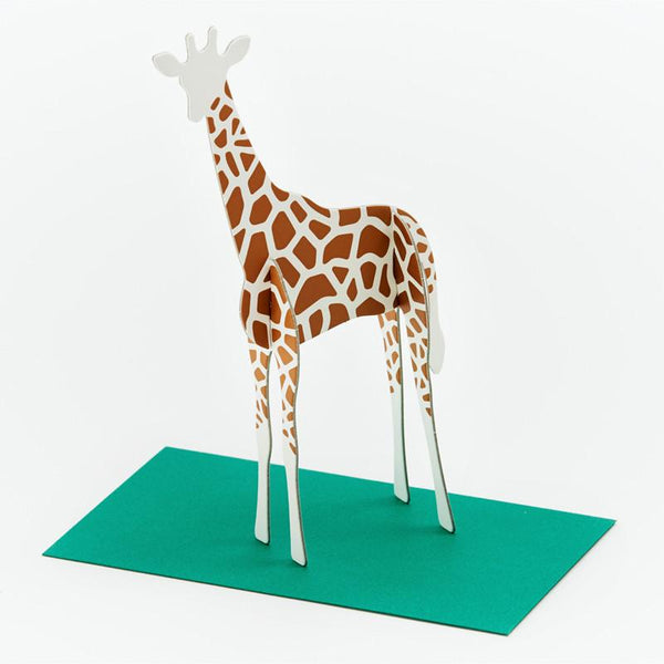 立體卡片 Giraffe/Standing Message Card