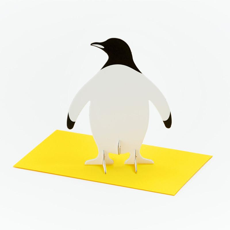 立體卡片 Penguin/Standing Message Card
