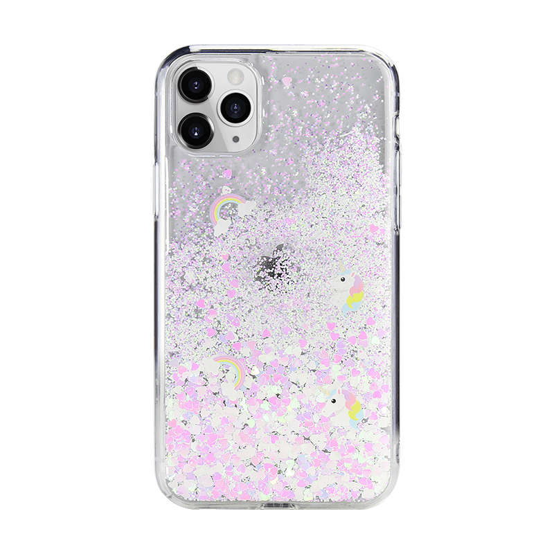 """Flash 真花系列 for iPhone 11 Pro  (5.8"""")-彩虹小馬"""