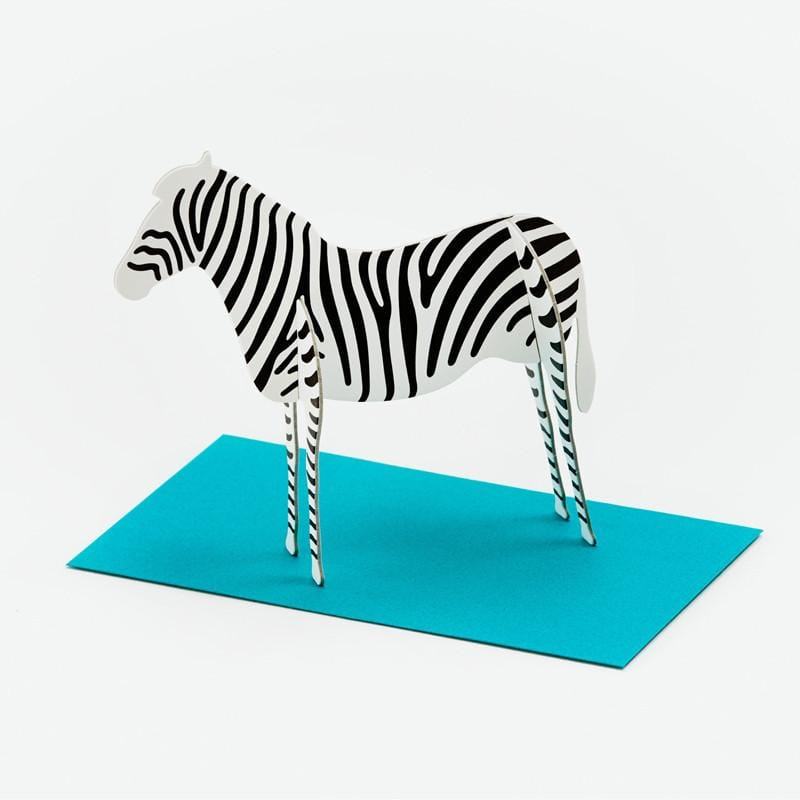 立體卡片 Zebra/Standing Message Card