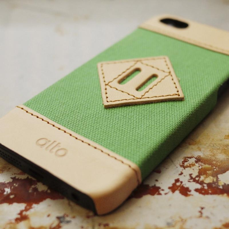 SCAPA Series for iPhone 5/5s - 草綠