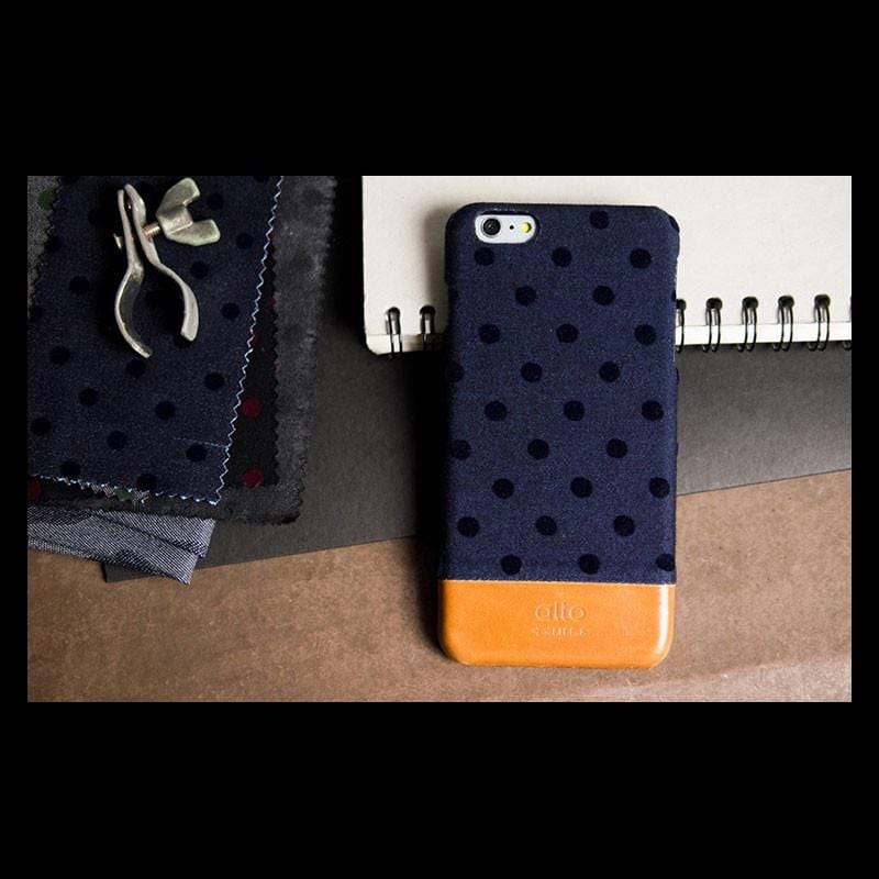 Coraza Denim for iPhone 6 Plus/6s Plus - 藍色點點