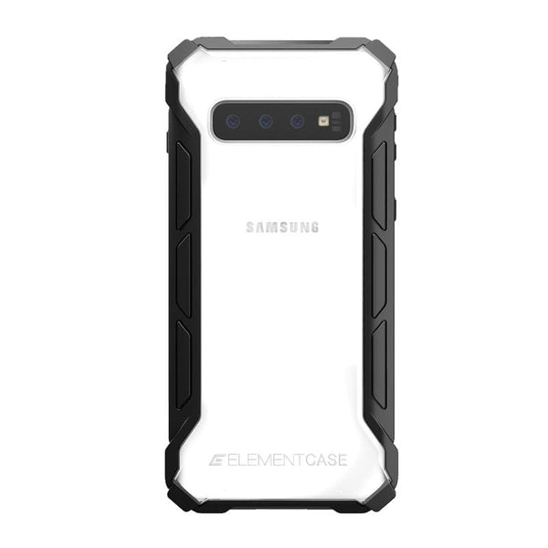 ELEMENT CASE Samsung S10+ Rally 專用頂級防摔殼 - 黑