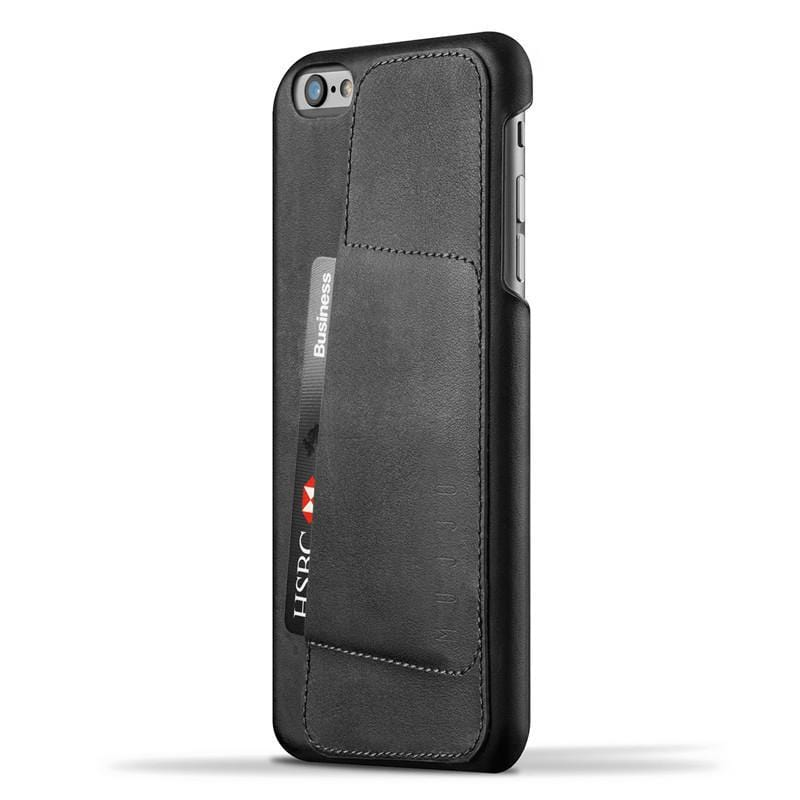 "Wallet Case皮革手機80°收納殼 iPhone 6/6s Plus(5.5"") - 黑色"