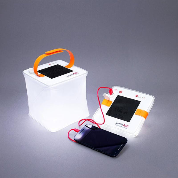 PackLite Max 2-in-1 Phone Charger (2合1手機充電式水陸兩用太陽能燈籠)