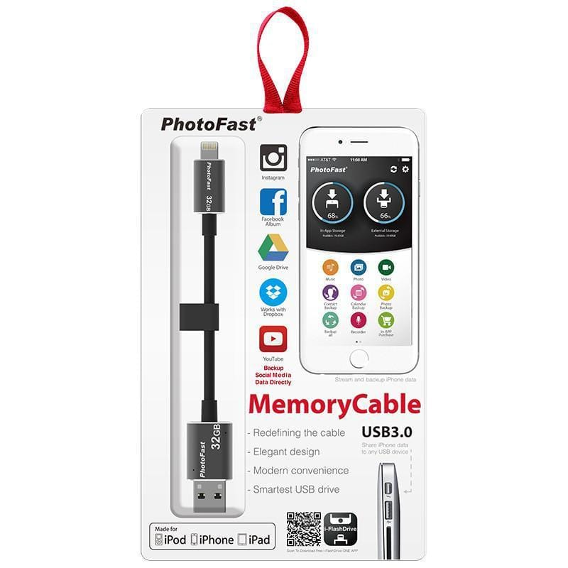 Memories Cable 3.0 8pin 32G 線型隨身碟