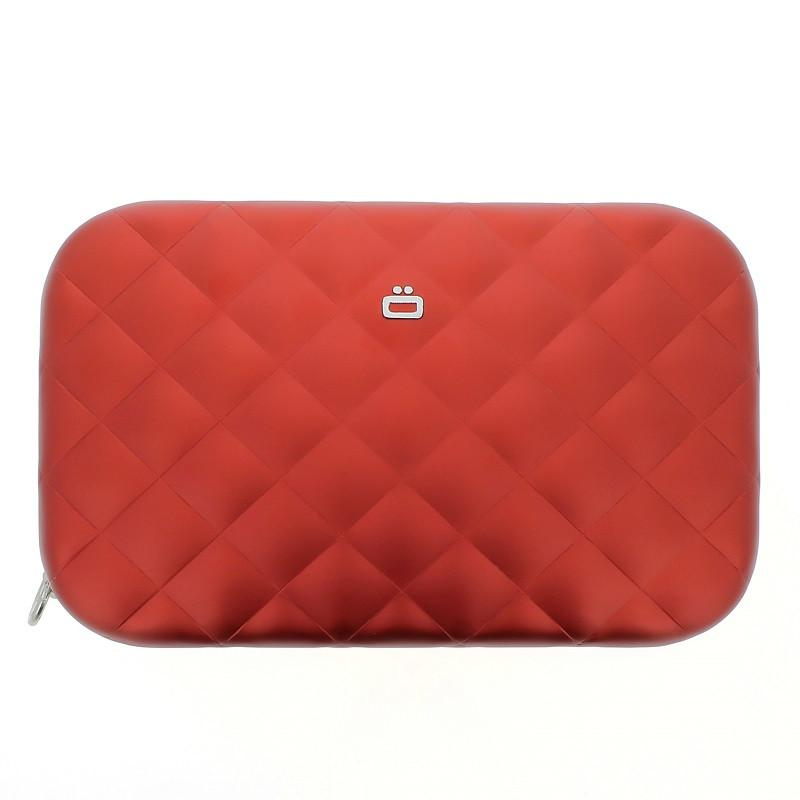 Quilted Lady Bag RFID安全防盜菱格紋女用包-Red 紅色