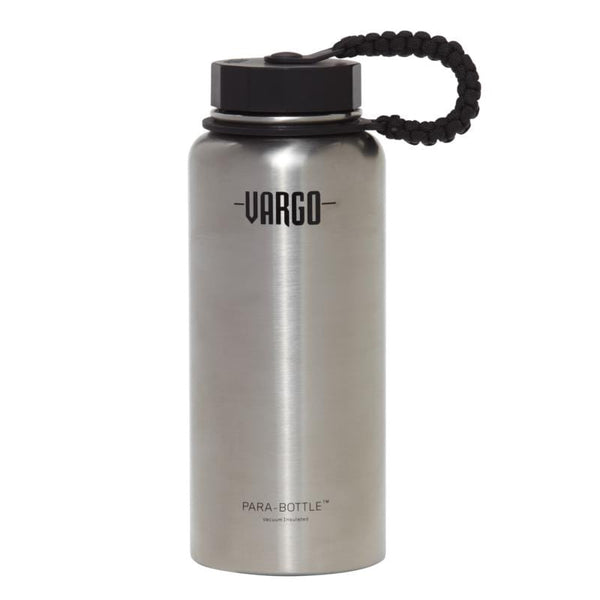 不鏽鋼製Para-Bottle 保溫水壺附傘繩 insulated stainless steel para-bottle (natural color) T-460