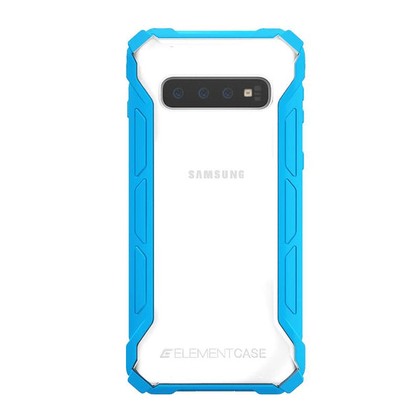 ELEMENT CASE Samsung S10+ Rally 專用頂級防摔殼 - 藍