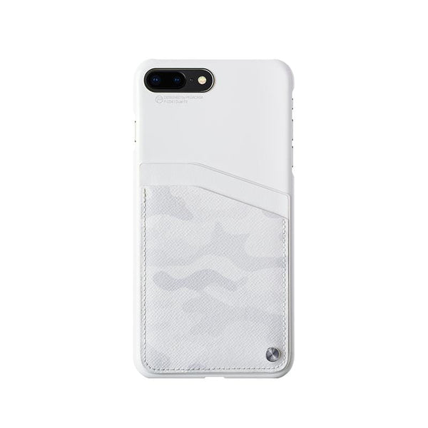iPhone 8 Plus手機殼Dual Fit-白迷彩