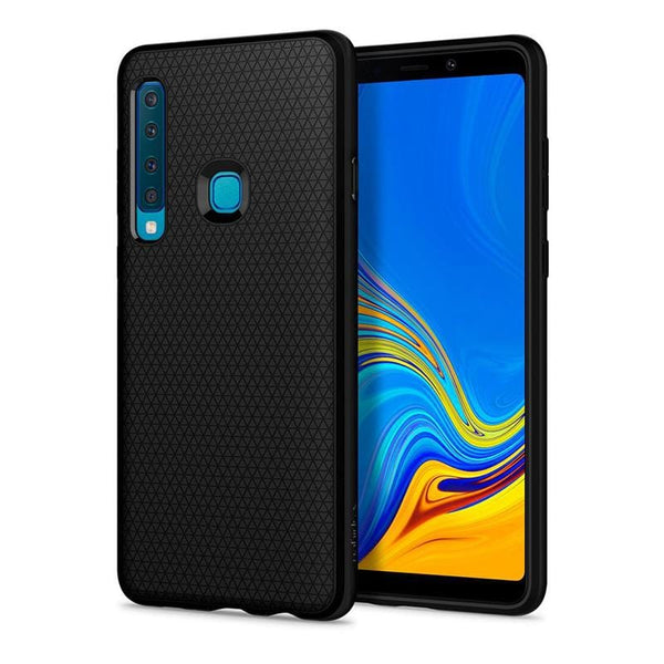 Galaxy A9 (2018) Liquid Air-手機保護殼-黑