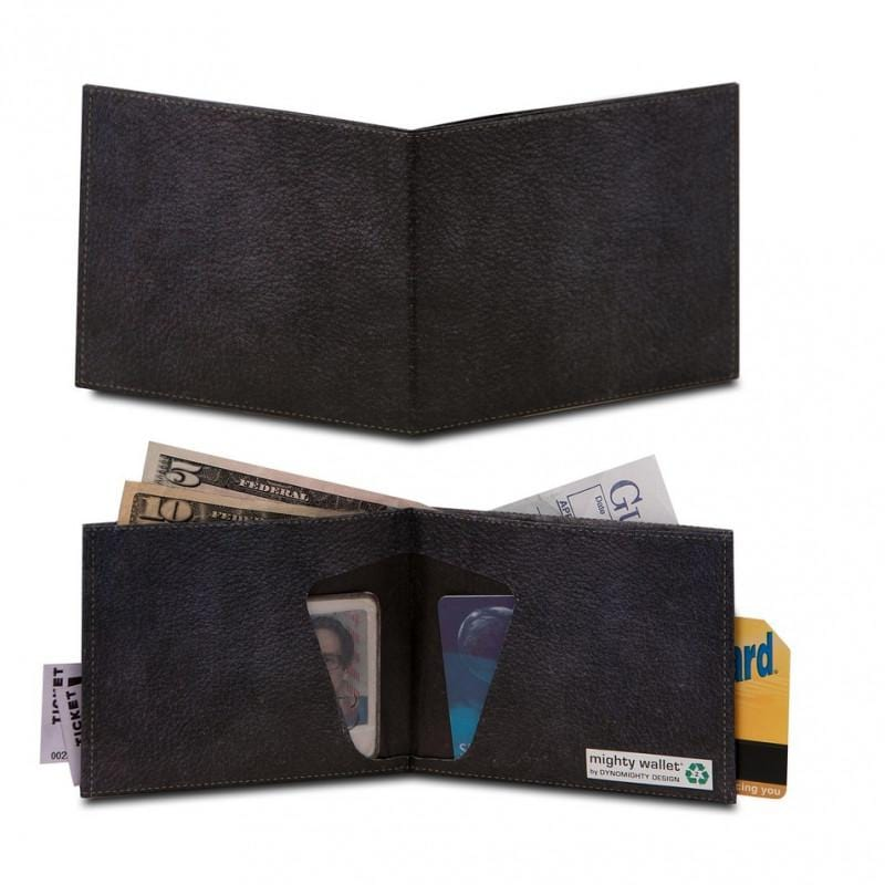 Mighty Wallet®紙皮夾 - Black Leather