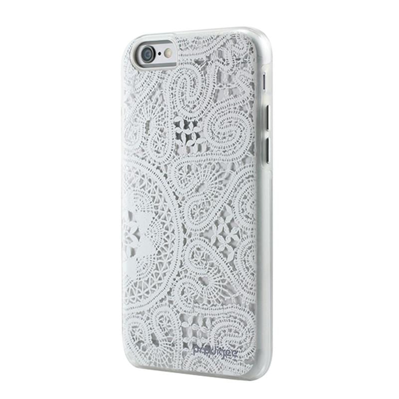 "iPhone 6/6s(4.7"") Lace 蕾絲女孩系列 - 清純白"