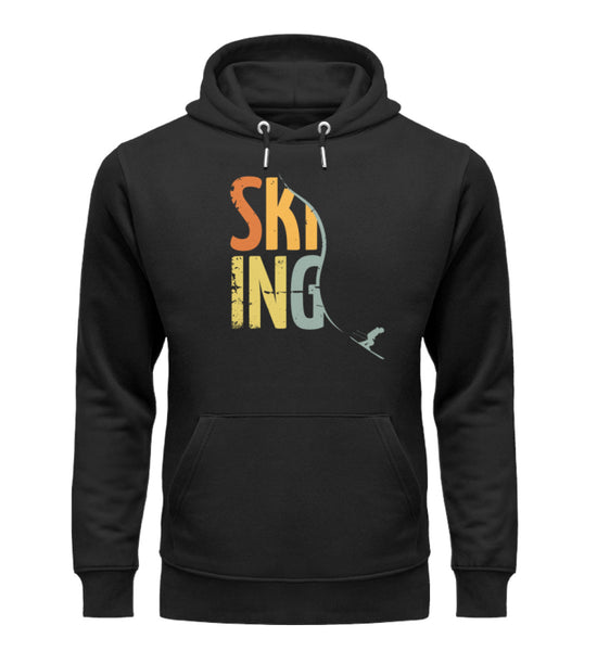 """Carving"" Unisex Organic Hoodie in Farbe Black-ANKERLIFT"