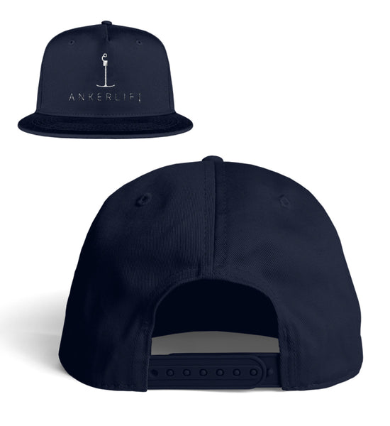 """ANKERLIFT"" Snapback-Cap in der Farbe Oxford Navy"