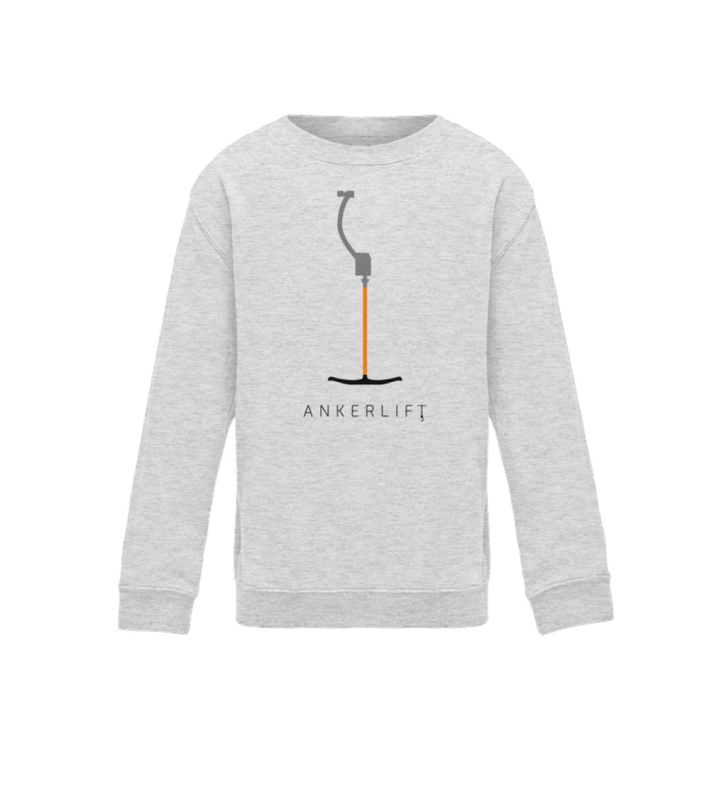 """ANKERLIFT"" Kinder Sweatshirt in der Farbe Heather Grey von ANKERLIFT"