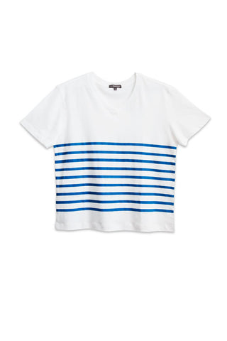 WOMENS BOXY STRIPES