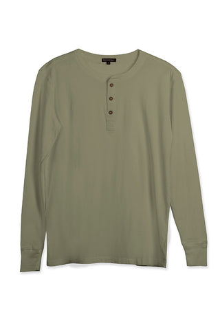 MEN'S LS HENLEY