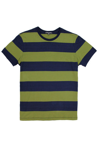 MEN'S SS CREW STRIPED