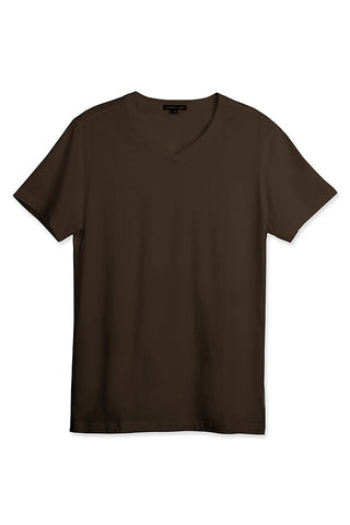 MEN'S SS V NECK