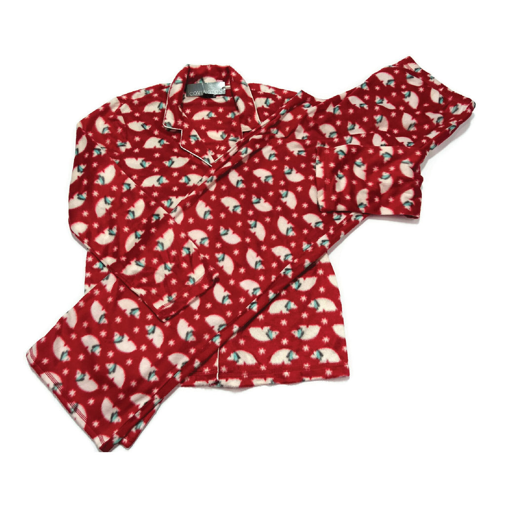 Pajamas - Medium Red Bears