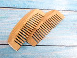Bamboo Wood Wide Tooth Comb
