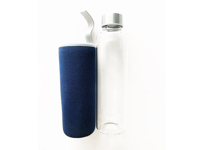 Glass Bottle w/ Protective Bag